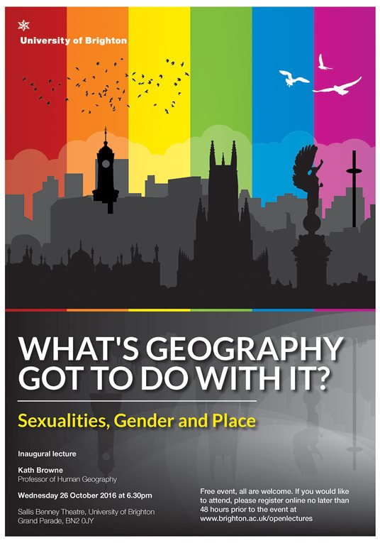 What's Geography got to do with it? Sexualities, Gender and Place